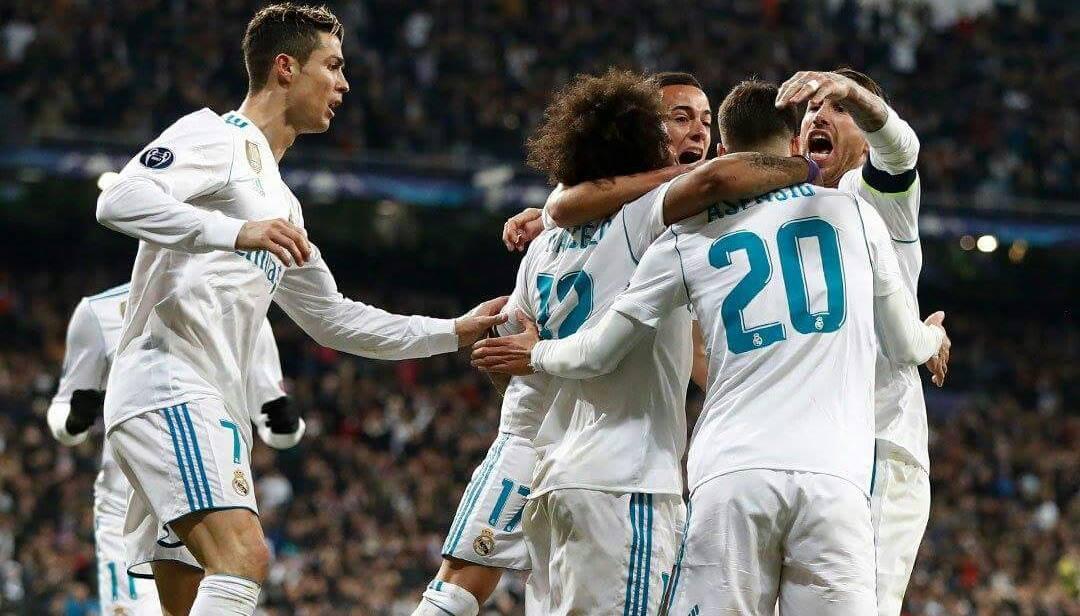 ريال مدريد يقلب الطاولة امام النادي الباريسي