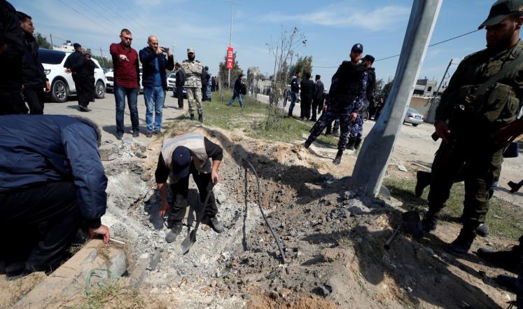 نجاة رئيس حكومة الوفاق الفلسطينية ورئيس المخابرات الفلسطينية من عملية إغتيال