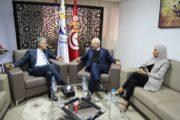 لقاء يجمع راشد الغنوشي بالسفير الإيطالي بتونس
