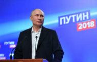 فشل ذريع للشيوعي وبوتين يحقق فوزاً كبيراً في الإنتخابات الرئاسية..بوتين: من الضروري توحيد جهود جميع الناس..
