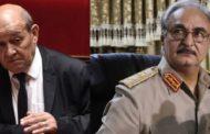 الخارجية الفرنسية تكشف أخر الأنباء عن صحة خليفة حفتر