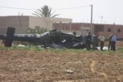 سقوط طائرة تعليم عسكرية ووفاة جميع ركّابها