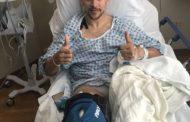 نجاح العملية الجراحية ليوسف المساكني