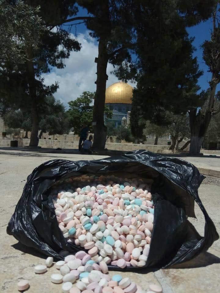 ما حكاية المادّة المخدرة التي تمّ ضبطها بالمسجد الأقصى؟