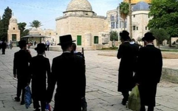 مستوطنون إسرائيليون يقتحمون المسجد الأقصى المبارك