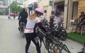 دراجات هوائية لمن يريد القيام بجولة ترفيهية داخل العاصمة