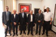 لقاء يجمع الطبوبي بوفد عن حركة نداء تونس يرأسه حافظ قائد السبسي