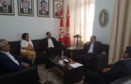 لقاء يجمع الطبوبي بوفد عن حزب أفاق تونس