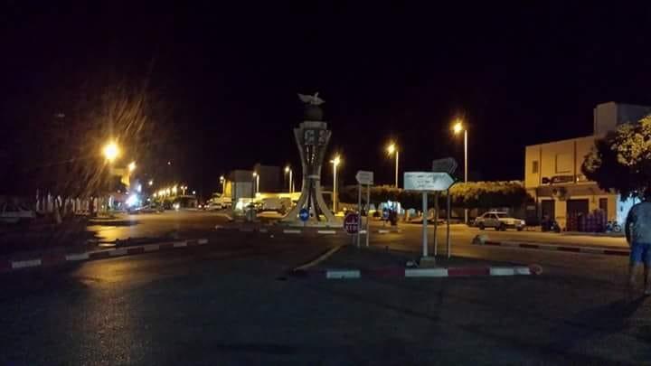 والي سيدي بوزيد يأذن بتنوير المفترقات الدائرية تأمينا لسلامة أعوان الأمن