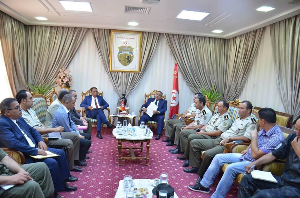 المجلس الجهوي للأمن بسوسة يضبط خطة عمل للتصدي للتهديدات الإرهابية