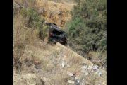 ماطر: إصابة 5 أشخاص إثر انقلاب سيّارة بمنطقة