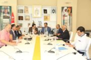 وزير الشـــــــــؤون الثقافيــــــة يشرف على اجتماع خاص للاطلاع على الاستعدادات اللوجستية للمهرجانات الصيفية