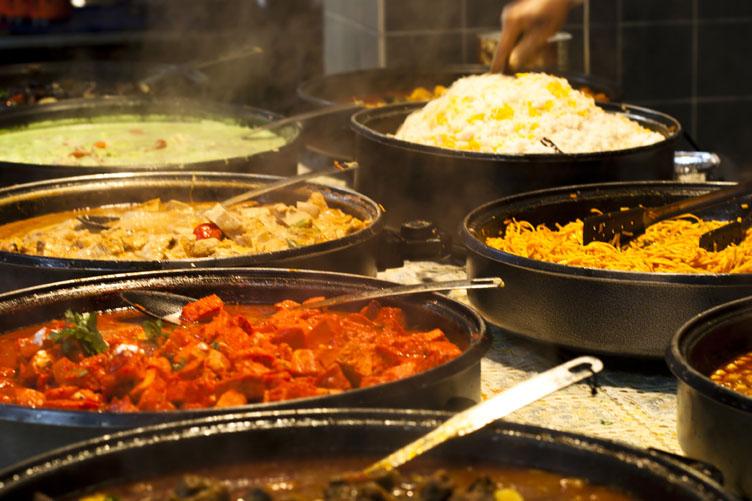 مهرجان المأكولات الهندية بتونس