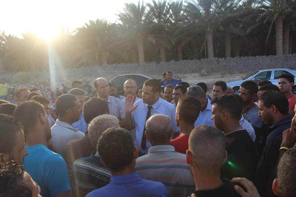 والي قبلي يؤدي زيارة لمنطقة المساعيد ويعاين أبرز المشاريع التنموية