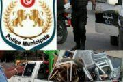 الشرطة البلدية بصفاقس تقوم بحملة وتحقق نجاحات