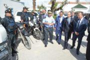 وزير الداخلية في زيارة عمل إلى مقريّ الإدارة العامة لوحدات التدخل وإدارة إقليم الأمن الوطني بتونس
