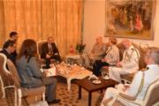 مستشار الدفاع البريطاني لمنطقة الشرق الأوسط وشمال إفريقيا في ضيافة وزير الداخلية هشام الفراتي