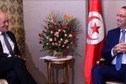 عقب لقاء الشاهد بوزير الخارجية الفرنسي، التوقيع على ثلاث اتفاقيات تعاون بقيمة 49 مليون اورو