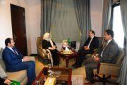 سفير المملكة العربية السعودية  بتونس يستقبل وكيلة وزارة التعليم للتعليم الموازي