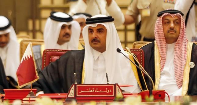 أمير قطر: الاقتصاد القطري ازداد قوة وصادرات النفط لم تتأثر بسبب الحصار..وقريباً تحقيق الأمن المائي والغذائي