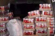 اوتيك: حجز 18 ألف علبة جعة و380 قارورة خمر  بمخزن للمواد الكحولية