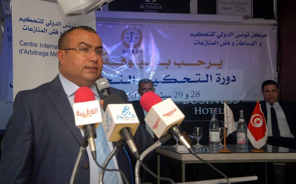 سامي الغابري:الإستثمار هو الهدف الأول الذي نعمل من أجله سواءً عن طريق تأسيس مركز تونس الدولي للتحكيم والوساطة وفض المنازعات أوتأسيس المحكمة العربية