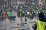 الداخلية الفرنسية : 136 الف عدد المشاركين في المظاهرات و ايقاف 1723 شخصا في جميع انحاء فرنسا