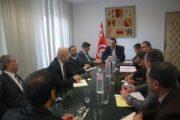 وزير التنمية يلتقي برئيس المجلس الأعلى لرجال أعمال الشرق الأوسط