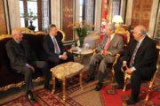 رئيس مجلس نواب الشعب يستقبل رئيس جمعية الترجي الرياضي التونسي