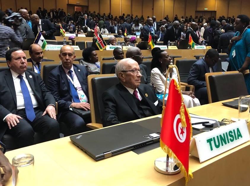 رئيس الجمهورية يذكر بمساهمات تونس منذ الاستقلال في عمليات حفظ السلم والأمن الأممية