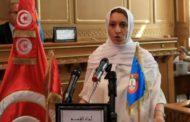 الشيخة سعاد عبد الرحيم تسطو على بلدية تونس