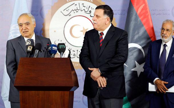 في اتصالين مع كل من غسان سلامة ومحمد الطاهرسيالة وزير الخارجية يدعو كل الأطراف في ليبيا إلى ضبط النفس والعودة إلى المسار السياسي
