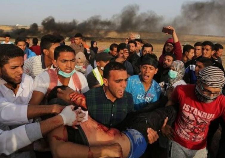 رصاص الإحتلال الإسرائيلي في شهر ماي يؤدي لسقوط 29 شهيد وإصابة 312 بجروح مختلفة