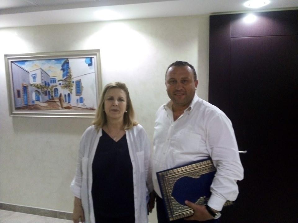 سلمى اللومي تشرف على إجتماع بالمنسقين الجهويين لحركة نداء تونس