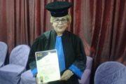 منوبية زواوي تتحصل على شهادة محكم دولي درجة أولى