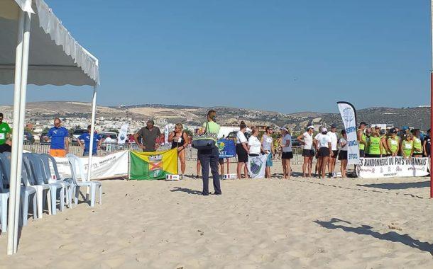 انطلاق فعاليات الدورة الثانية من دورة تونس الدولية المفتوحة لرياضة المشي في مياه البحر