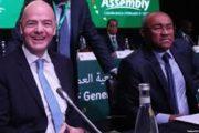رئيس الفيفا يعلن عن موقفه من كان مصر