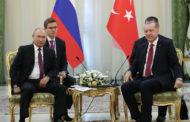 لقاء يجمع الرئيس التركي بنظيره الروسي