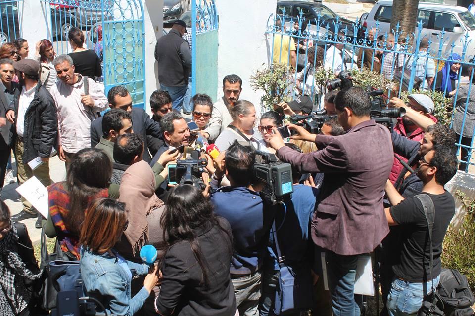 صورة النقابة الوطنية للصحفيين التونسيين تتهم حكومة الشاهد بالسيطرة على الإعلام العمومي