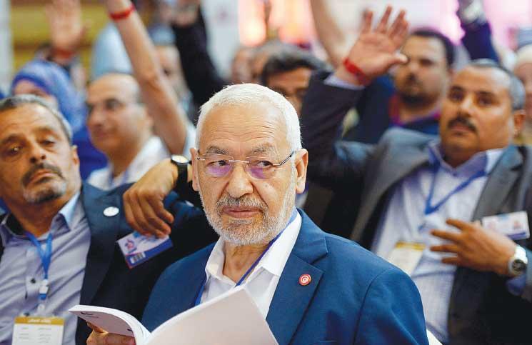 صورة شيخ الثمانين عاما راشد الغنوشي يستعدّ للترشح للإنتخابات الرئاسية القادمة