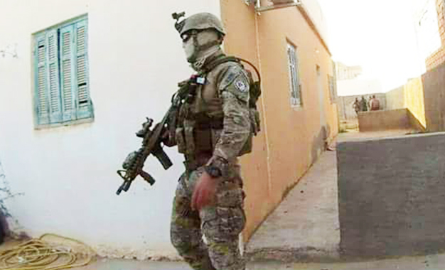 صورة العاصمة/القبض على عنصر تكفيري من أجل الإشتباه في الإنتماء لتنظيم إرهابي