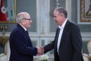 لقاء يجمع رئيس الجمهورية بالأمين العام للإتحاد العام التونسي للشغل