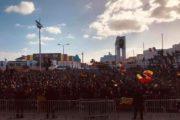 عدد من المنحرفين استغلوا احتفالات مئوية الترجي للبراكاجات و التهجم على الميترو