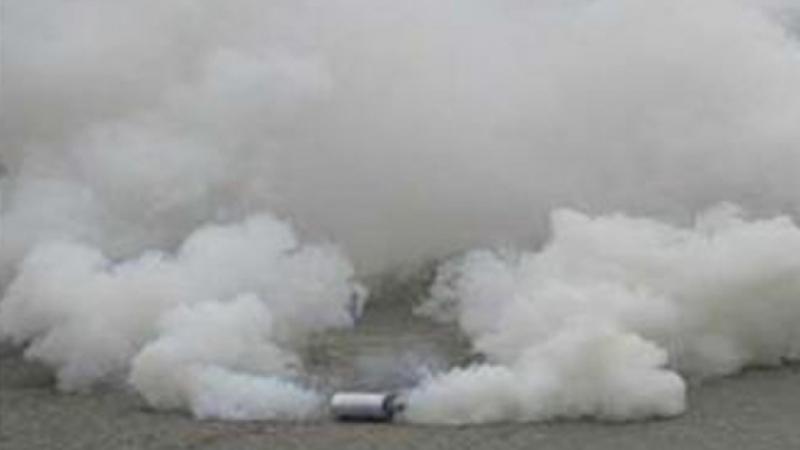 إستعمال الغاز المسيل للدموع في بنزرت