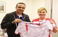 رئيسة كرواتيا تساند تونس في