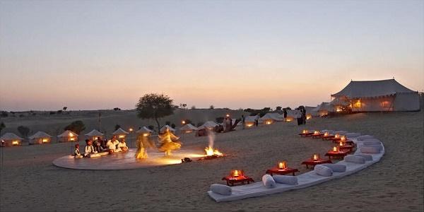 إنتعاش السياحة الصحراوية و زيادة في عدد الوافدين على قبلي