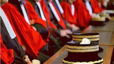 صورة إيقاف اطار قضائي من الرتبة الثالثة على خلفية تجاوزات وأخطاء في ملفات قضائية