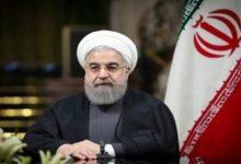 صورة الرئيس الإيراني: لن نترك إغتيال العالم فخري زاده دون رد