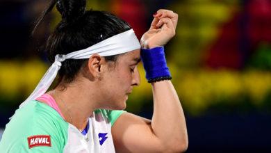صورة أنس جابر تغادر دورة الدوحة للتنس من الثمن النهائي