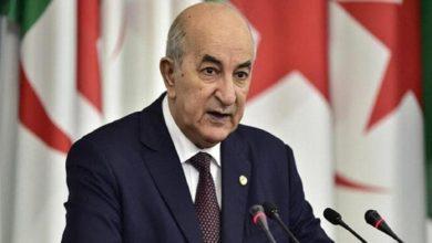 صورة الرئيس الجزائري عبد المجيد تبون سيعود إلى بلاده في الأيام القادمة